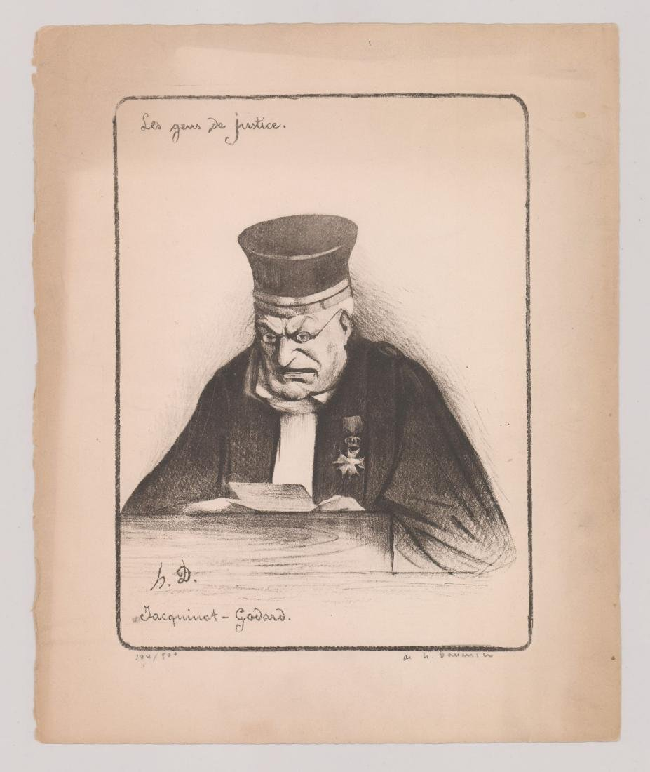 After Honore Daumier Lithograph - 2