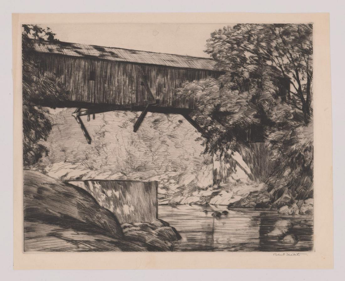 Robert Nisbet (American 1879-1961) Large Etching - 2