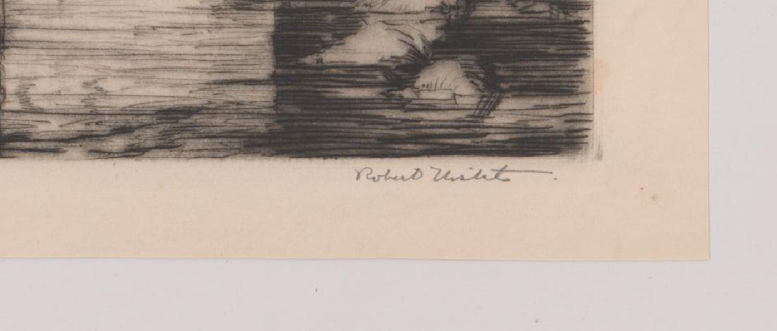 Robert Nisbet (American 1879-1961) Large Etching - 3