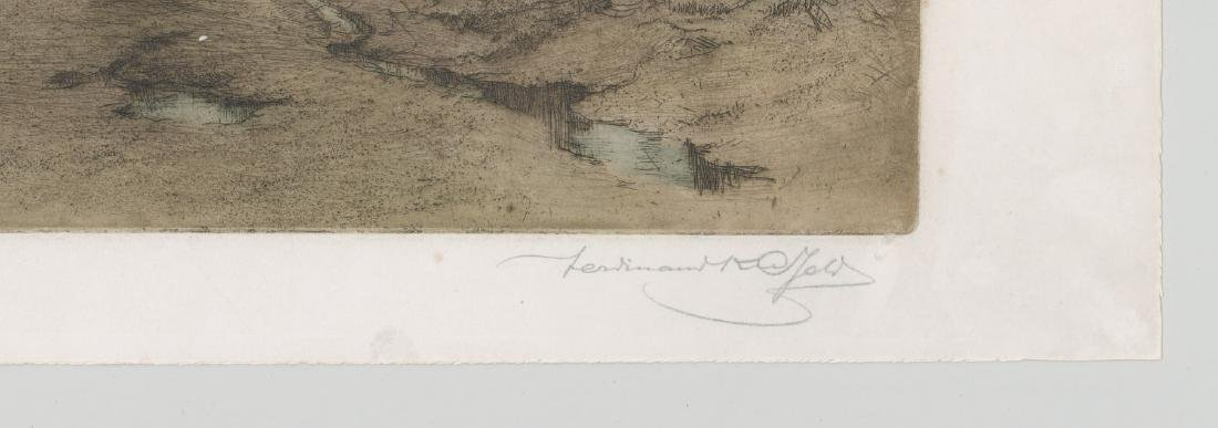 Ferdinand Karl Gold (Austria 1882-1981) Etching - 4
