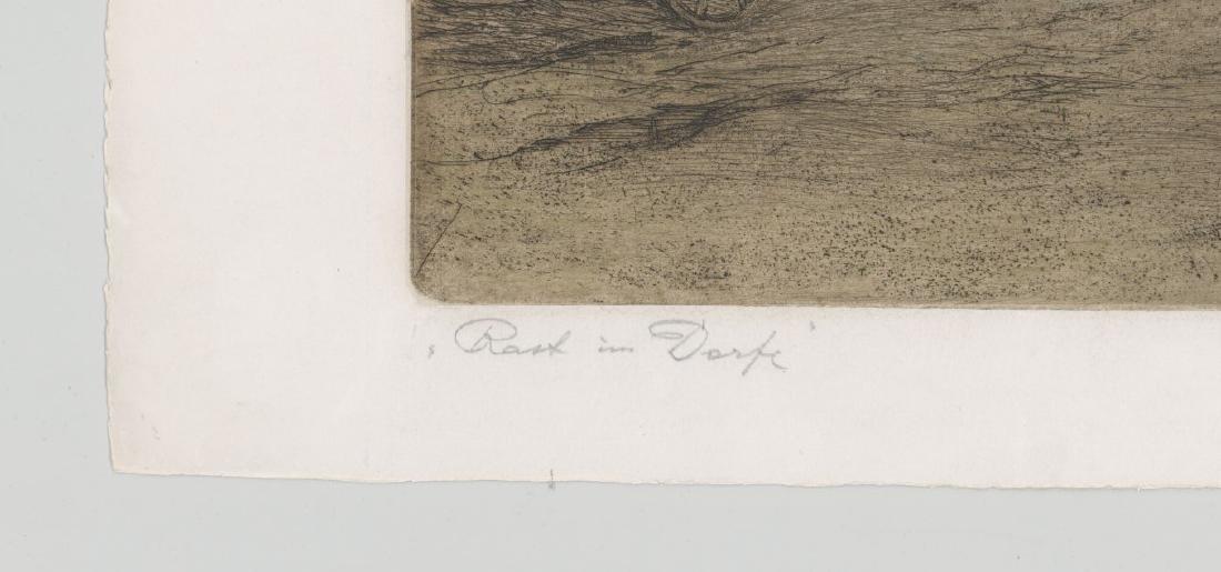 Ferdinand Karl Gold (Austria 1882-1981) Etching - 5