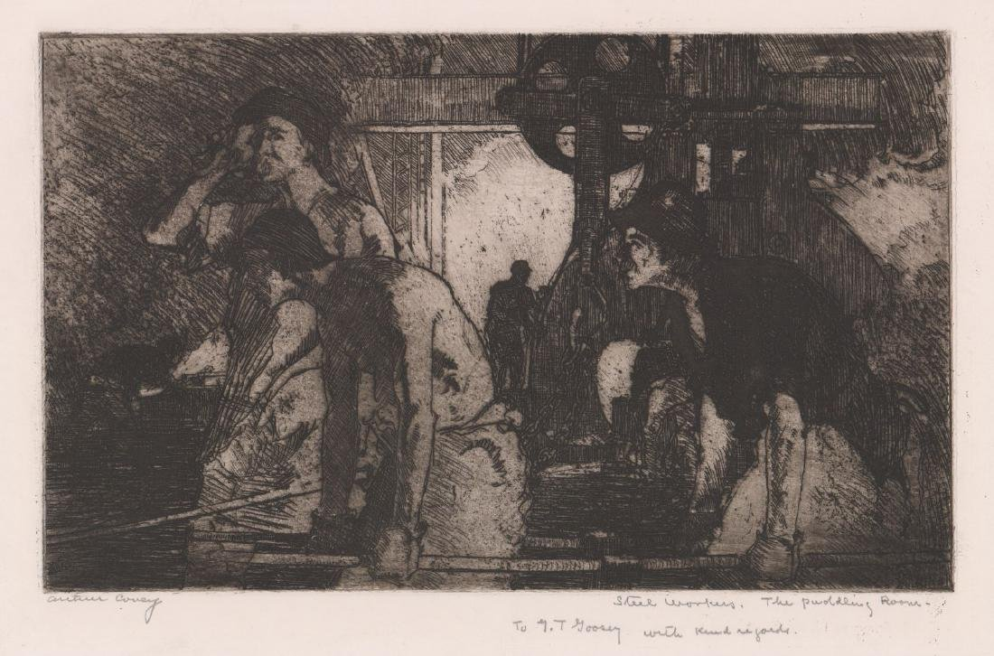 Arthur Covey (American 1877-1960) Etching