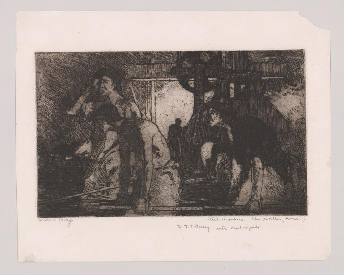 Arthur Covey (American 1877-1960) Etching - 3