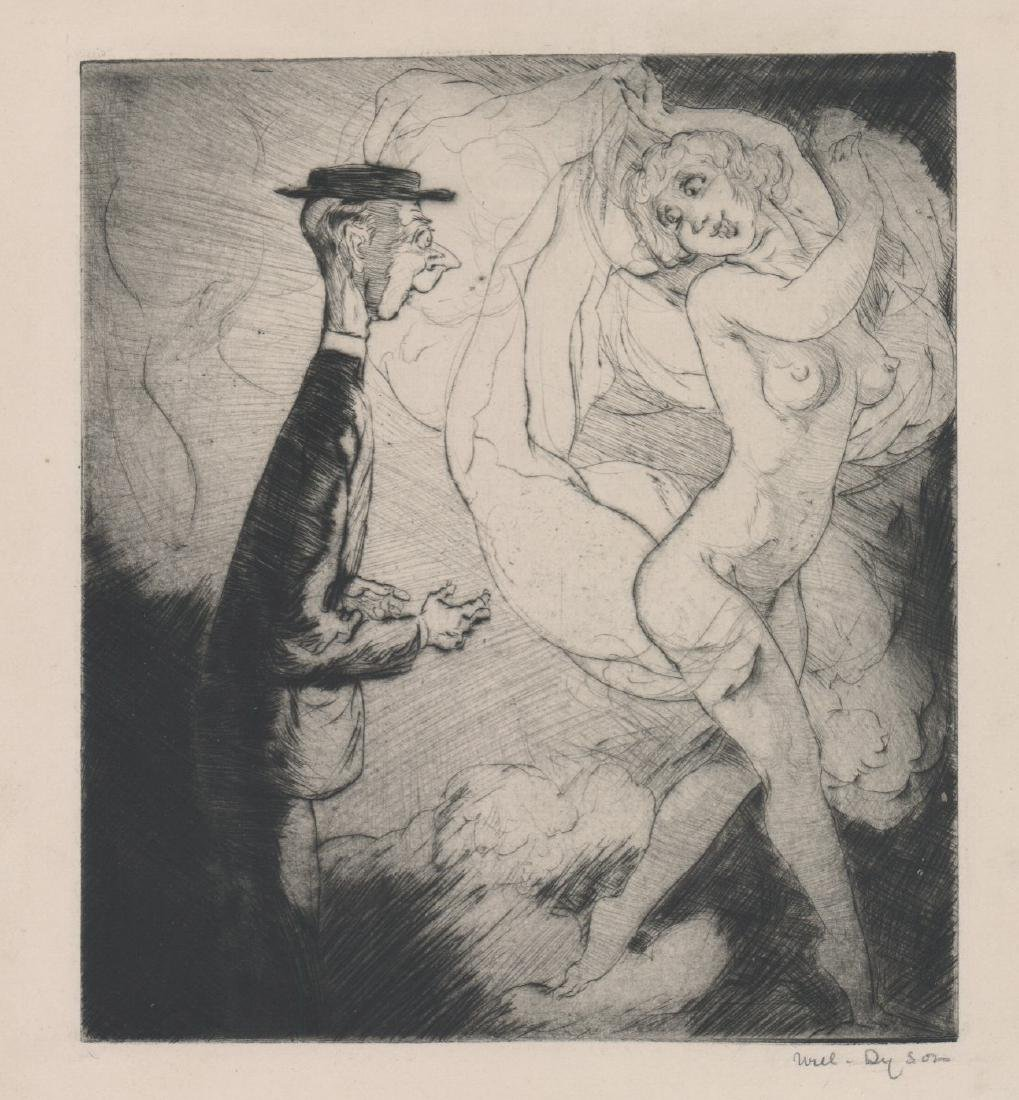 William (Will) Henry Dyson (1880 - 1938) Etching