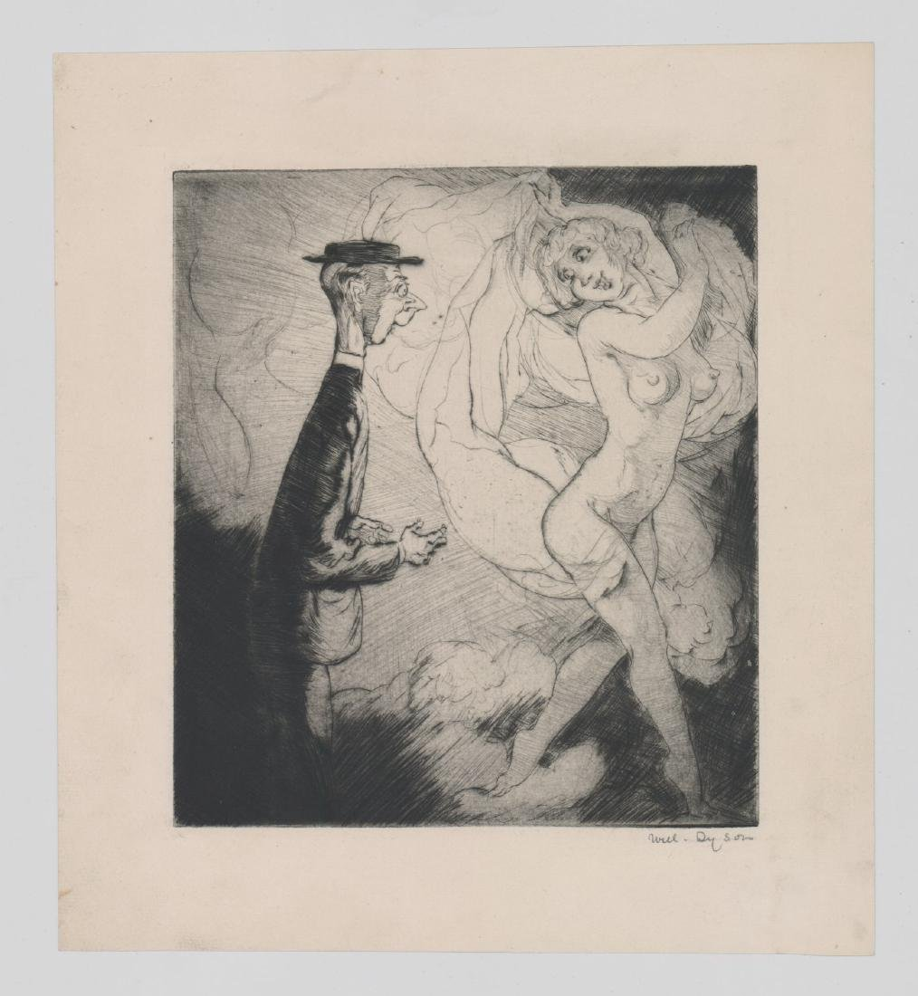 William (Will) Henry Dyson (1880 - 1938) Etching - 2