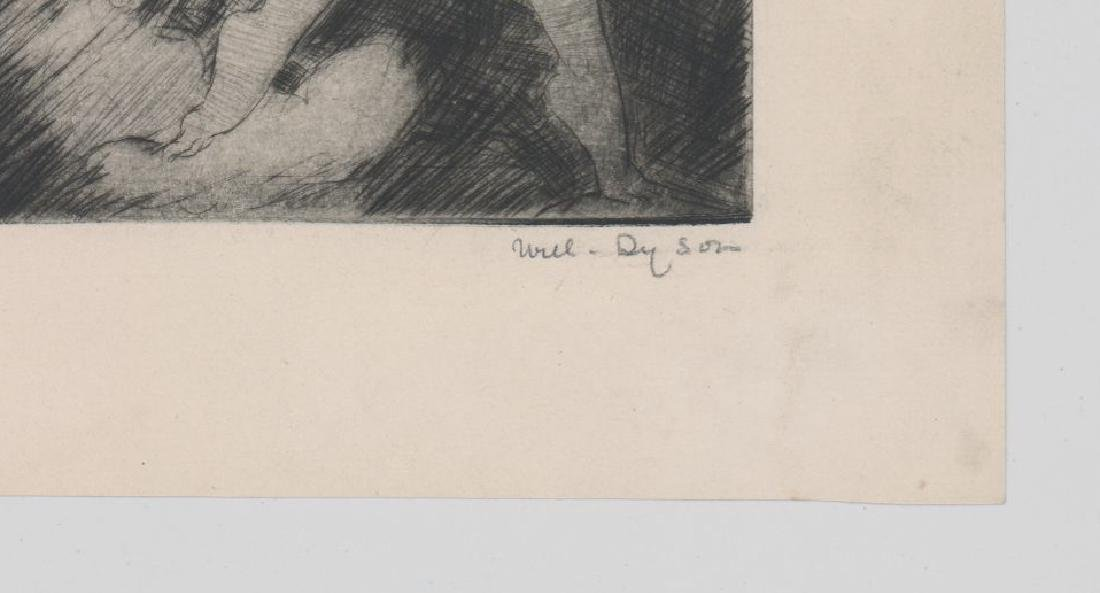 William (Will) Henry Dyson (1880 - 1938) Etching - 3