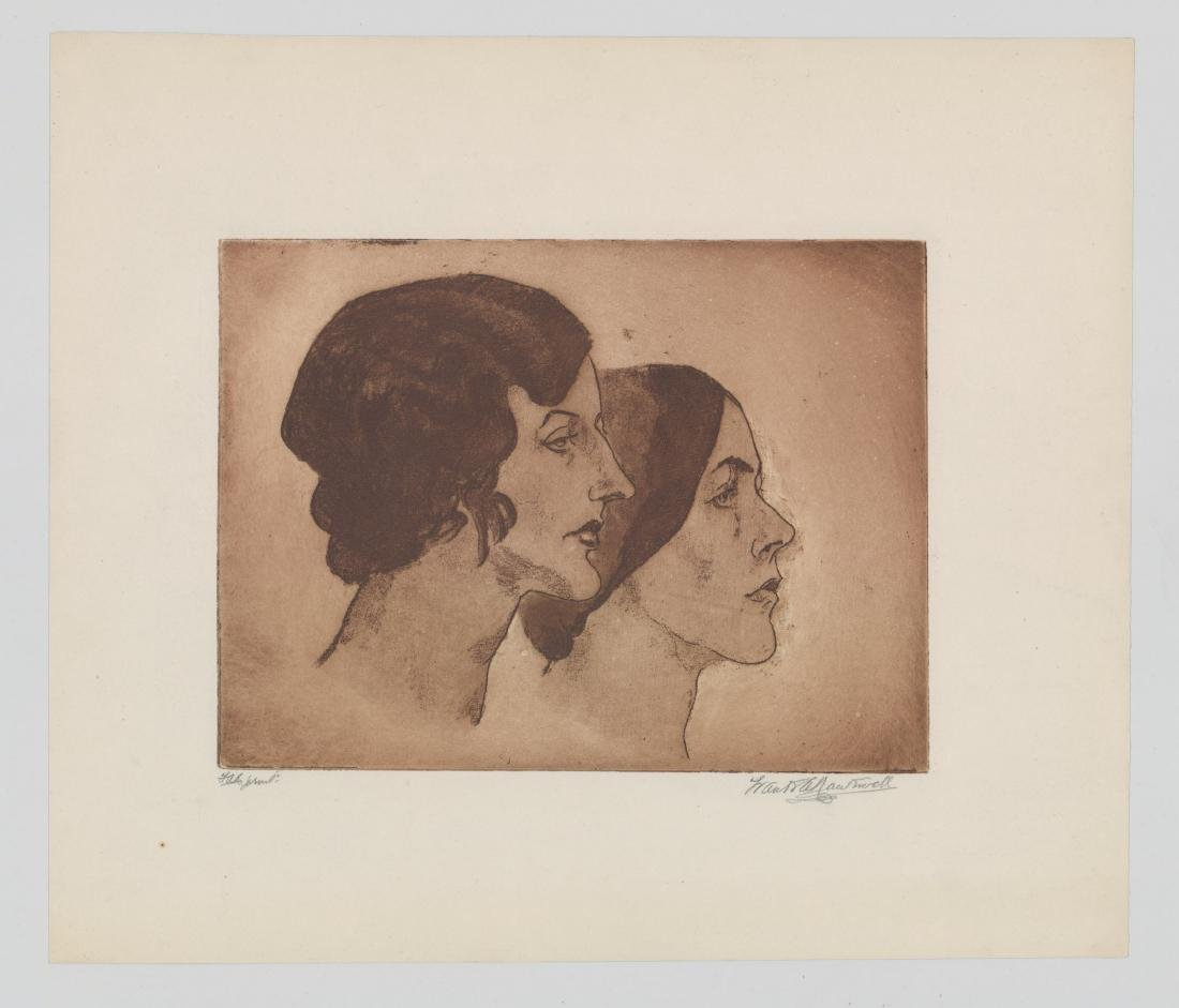 Frank Nankivell Etching - 2