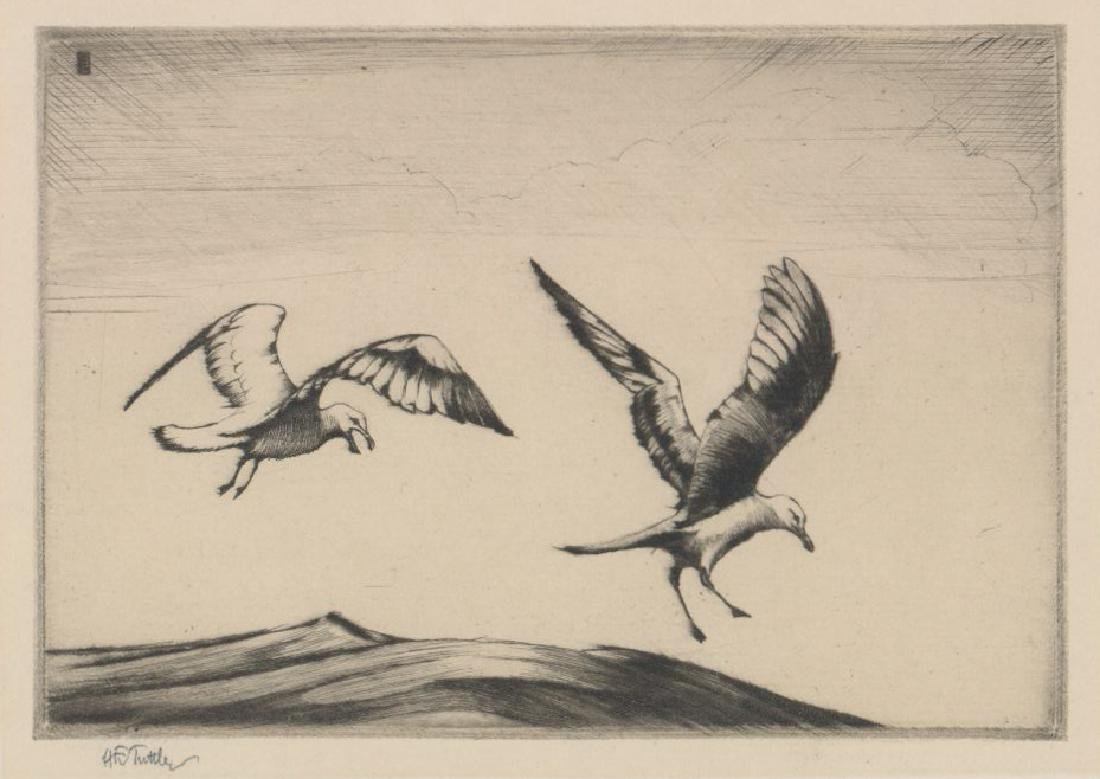 Henry Emerson Tuttle (1890-1946) Etching