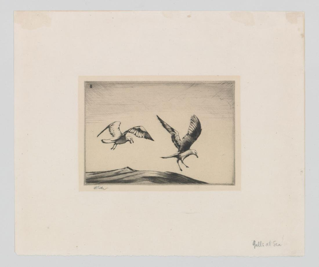 Henry Emerson Tuttle (1890-1946) Etching - 2