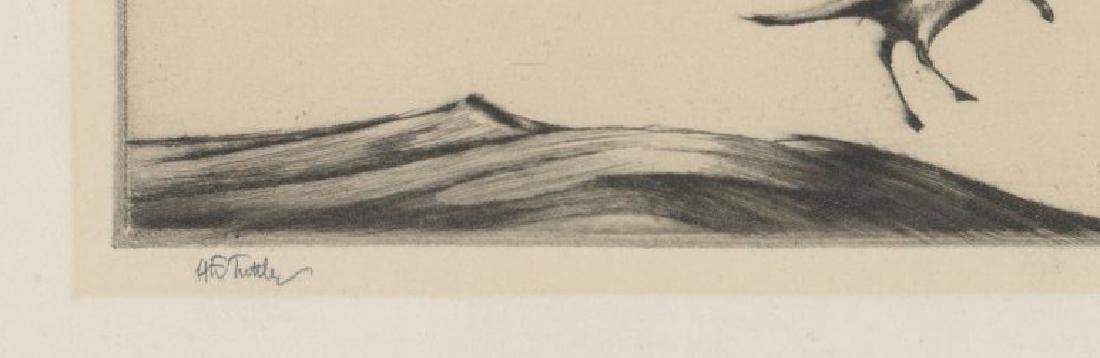 Henry Emerson Tuttle (1890-1946) Etching - 3