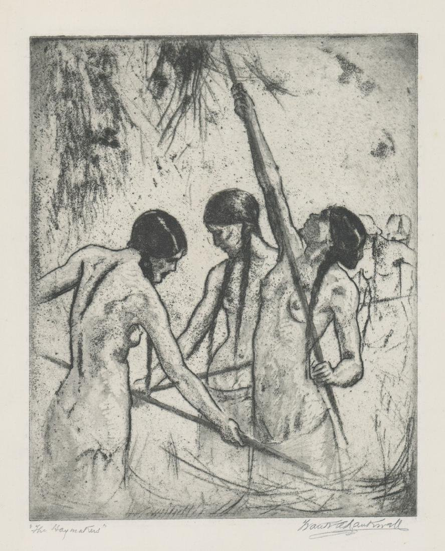 Frank Nankivell Etching
