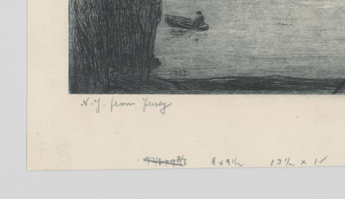 Leon Louis Dolice (New York 1892-1960) Etching - 5