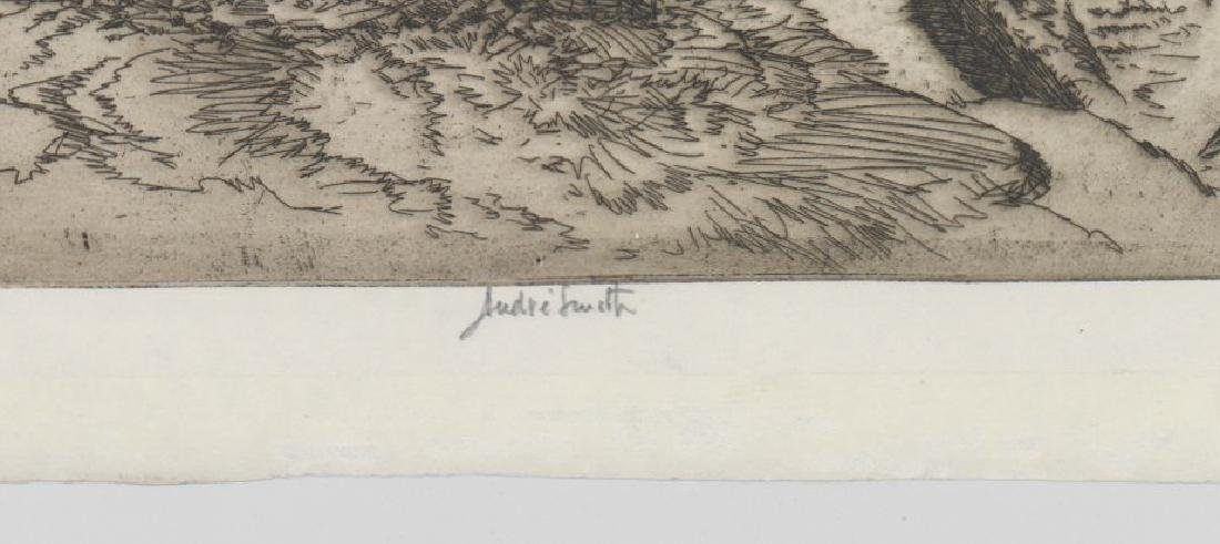 Jules Andre Smith Etching - 3