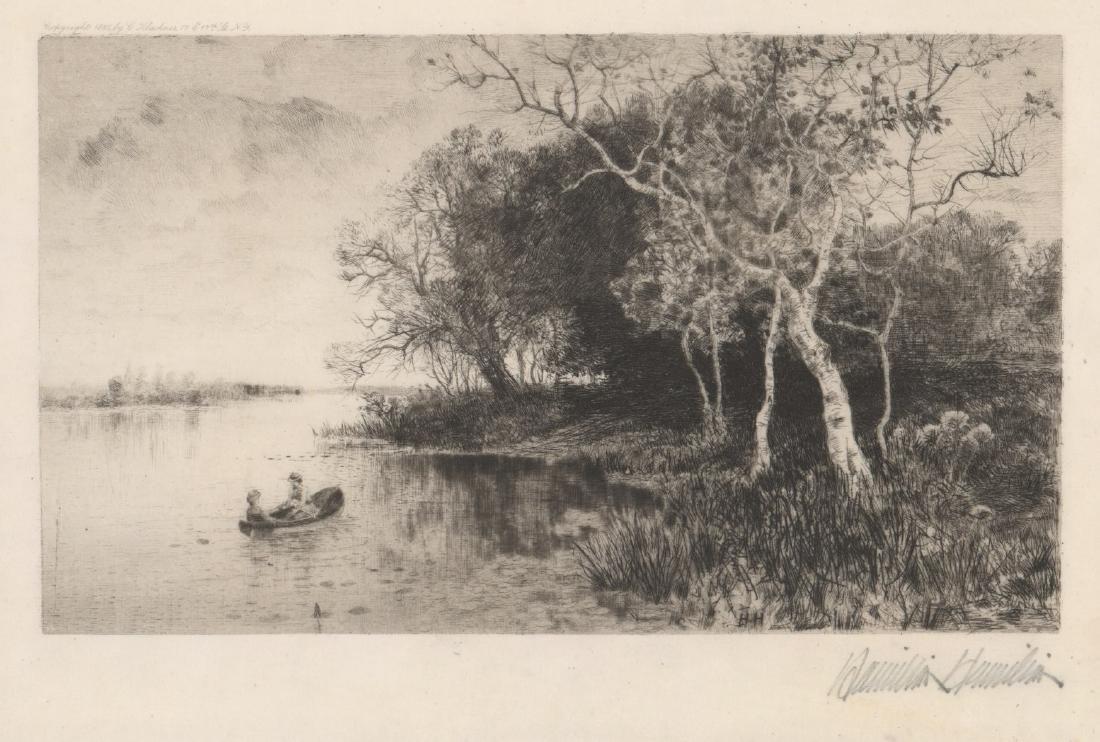 Hamilton Hamilton (1847-1928) Etching