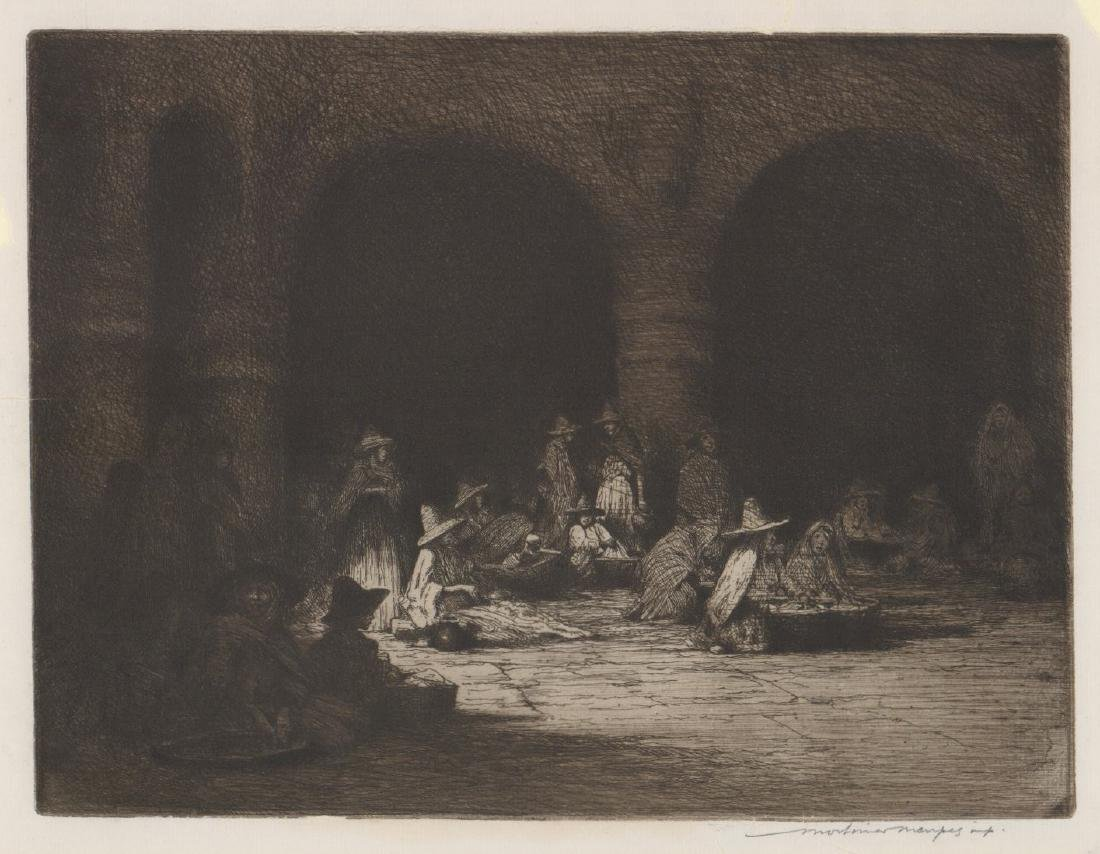 Mortimer Luddington Menpes Etching