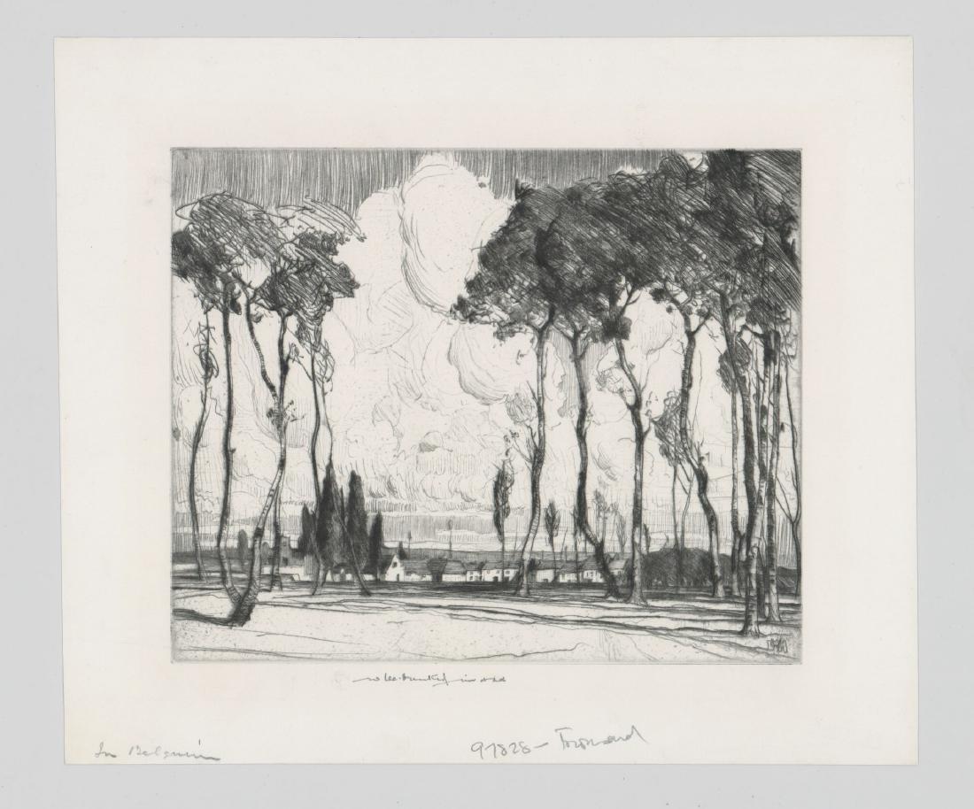 William Lee Hankey Etching - 2