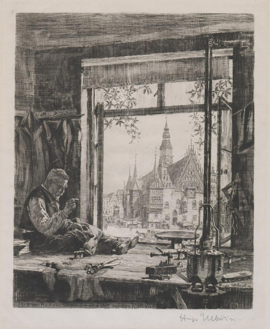 Hugo Ulbrich Etching