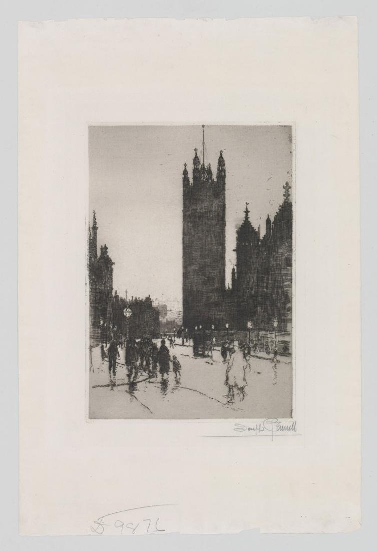 Joseph Pennell Etching - 2