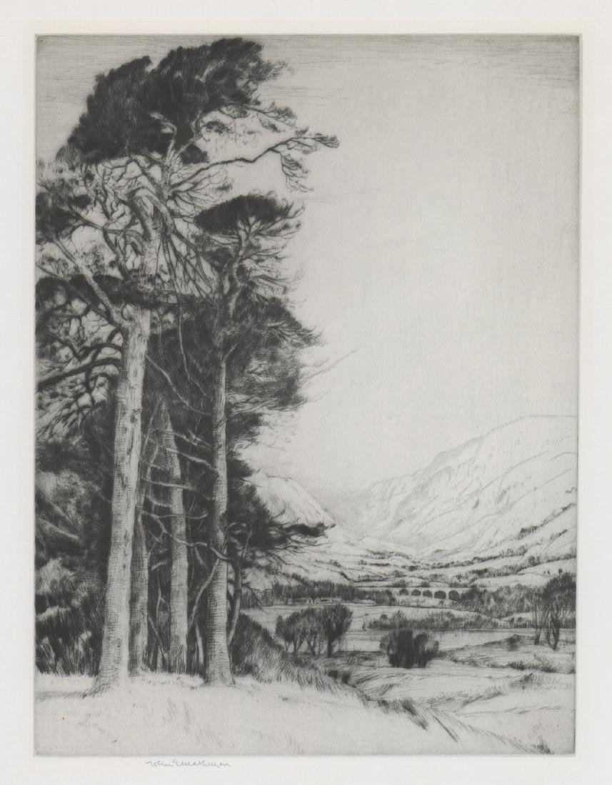 John George Mathieson Etching