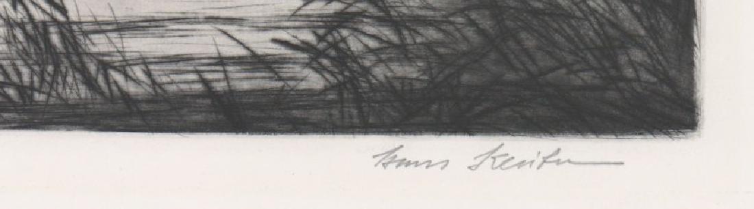 Hans Kleiber Large Etching - 3