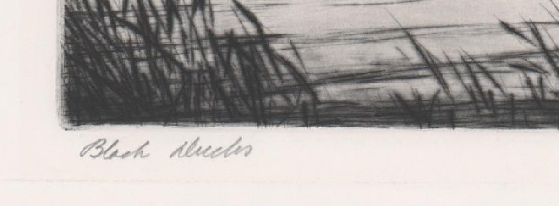 Hans Kleiber Large Etching - 4