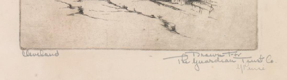 Gerry Peirce Etching [Cleveland] - 3
