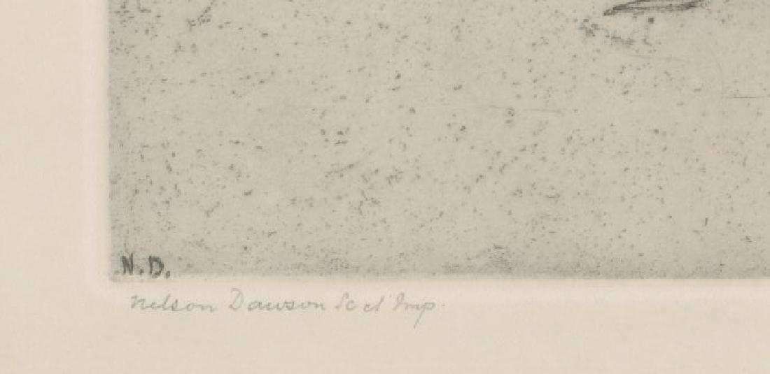Nelson Dawson Etching - 3