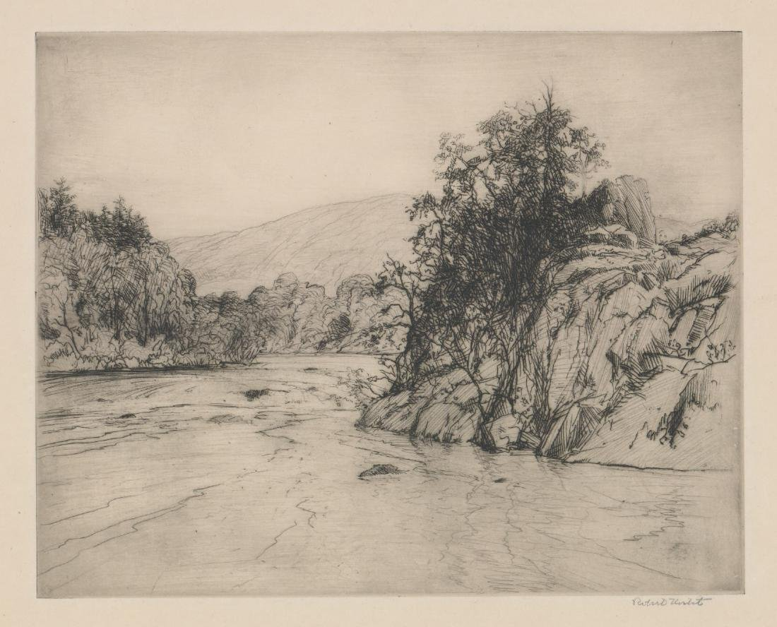 Robert Nisbet Etching [Bull's Bend]