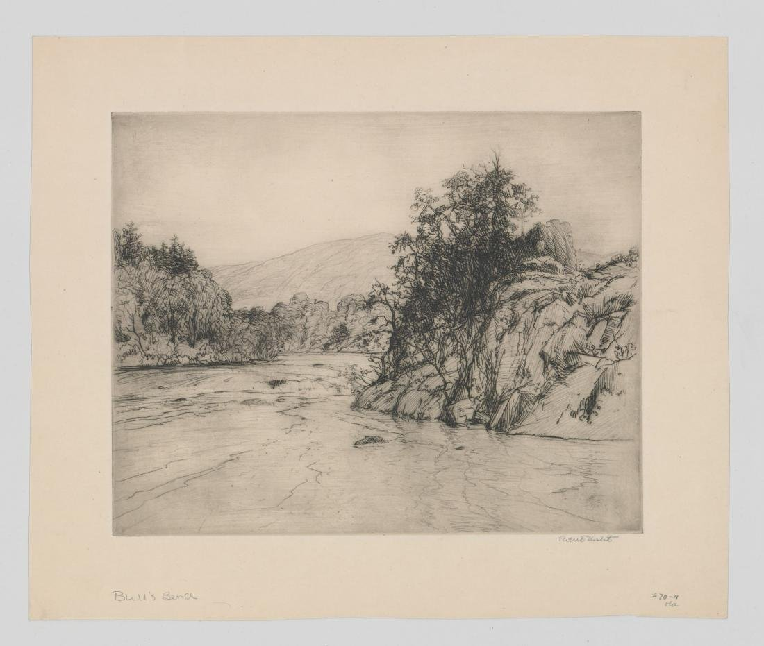 Robert Nisbet Etching [Bull's Bend] - 2