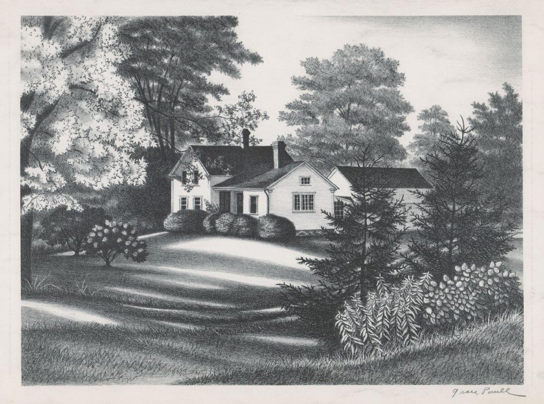 Grace Paull Lithograph