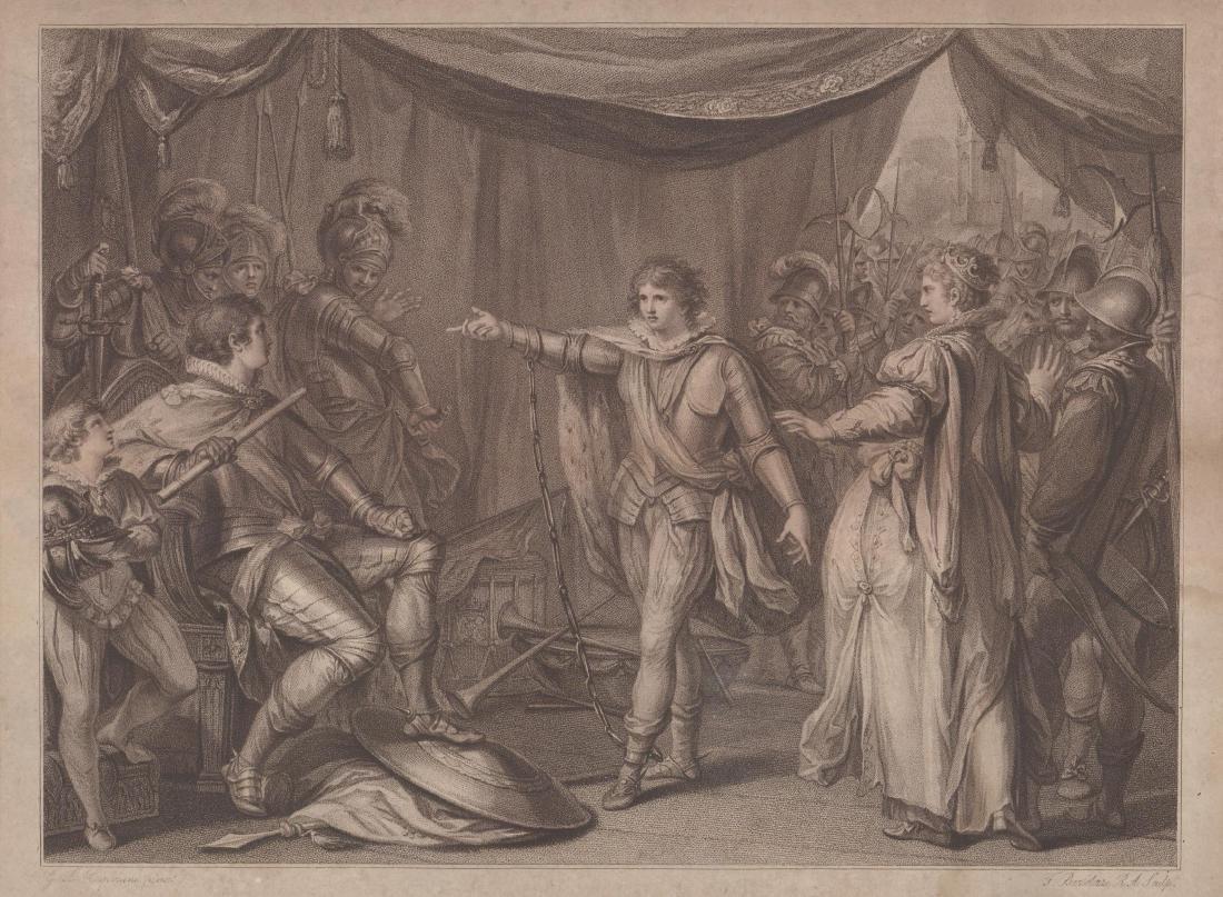Prince Edward Antique Print