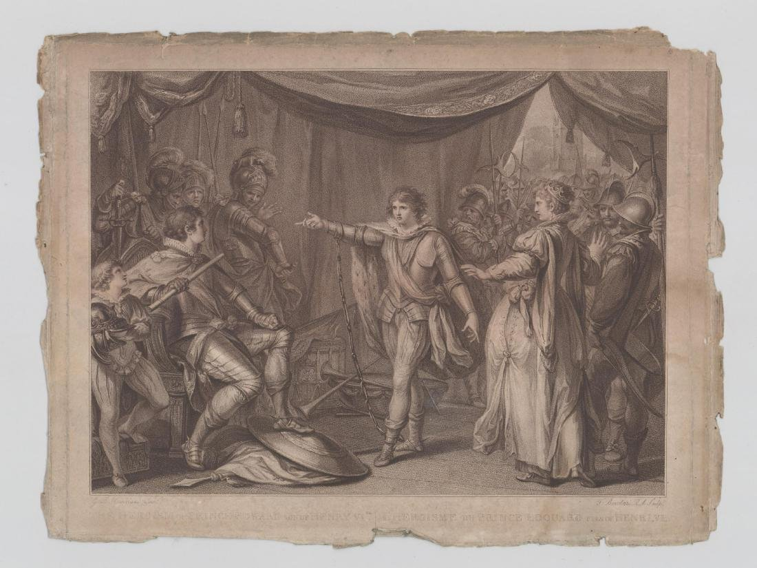 Prince Edward Antique Print - 2