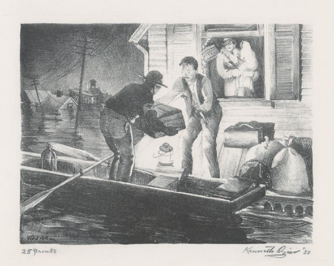 Kenneth Ozier Lithograph