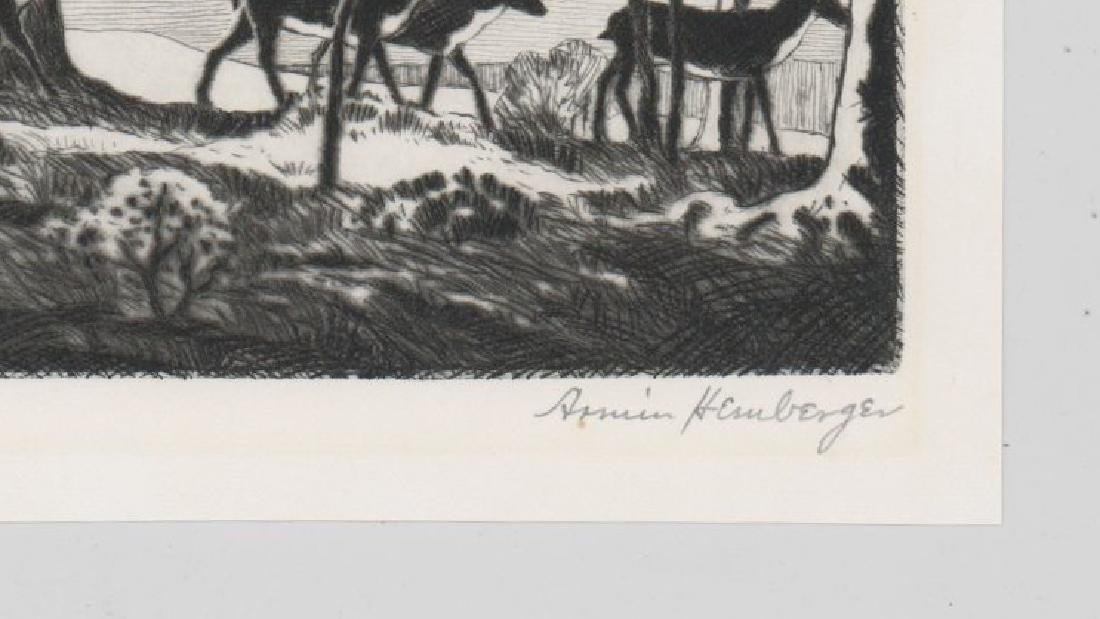 Armin Hemberger Etching - 3