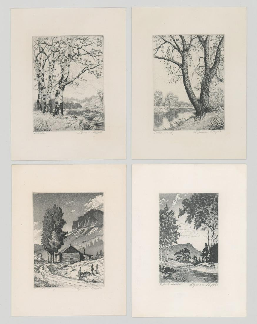 Lyman Byxbe Etchings