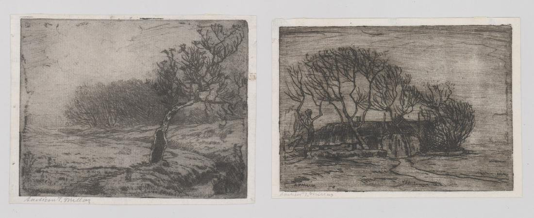 Addison Thomas Millar (1860 - 1913) Etchings