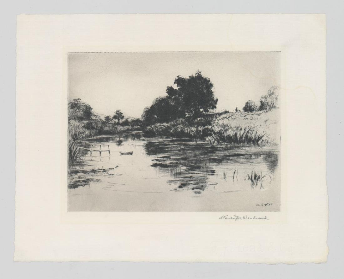 Stanley Woodward (1890 - 1970) Etching - 2