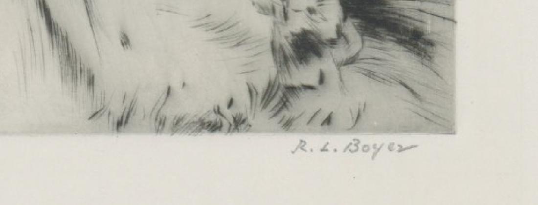 Ralph Boyer Etching - 3