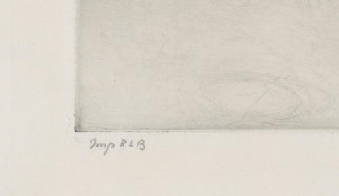 Ralph Boyer Etching - 4
