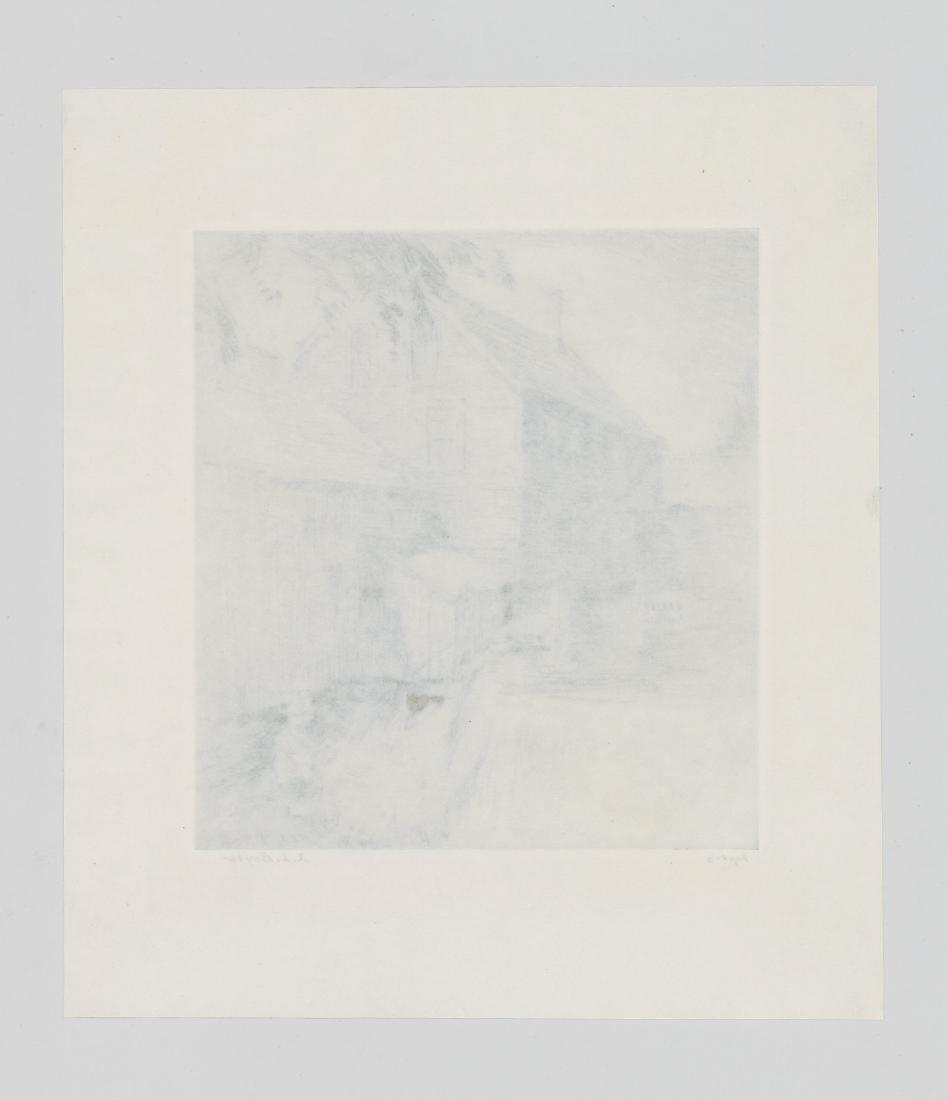 Ralph Boyer Etching - 5