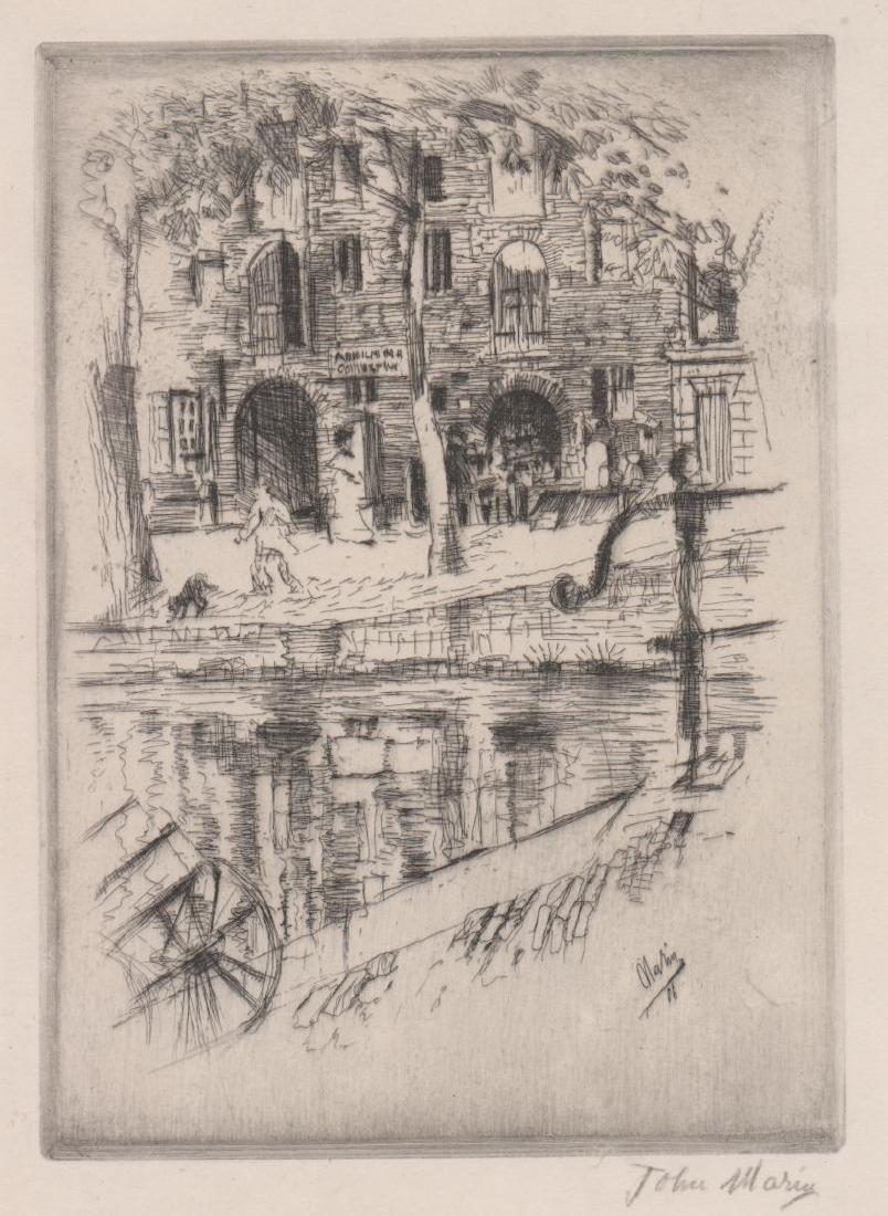 John Marin (1870-1953) Etching