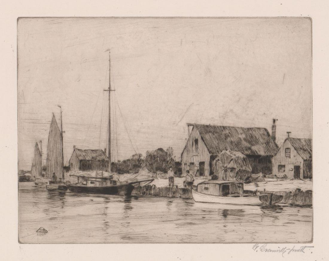 Walter Granville-Smith Etching