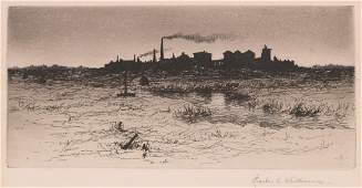 Charles E. Whittemore (born 1856) Etching