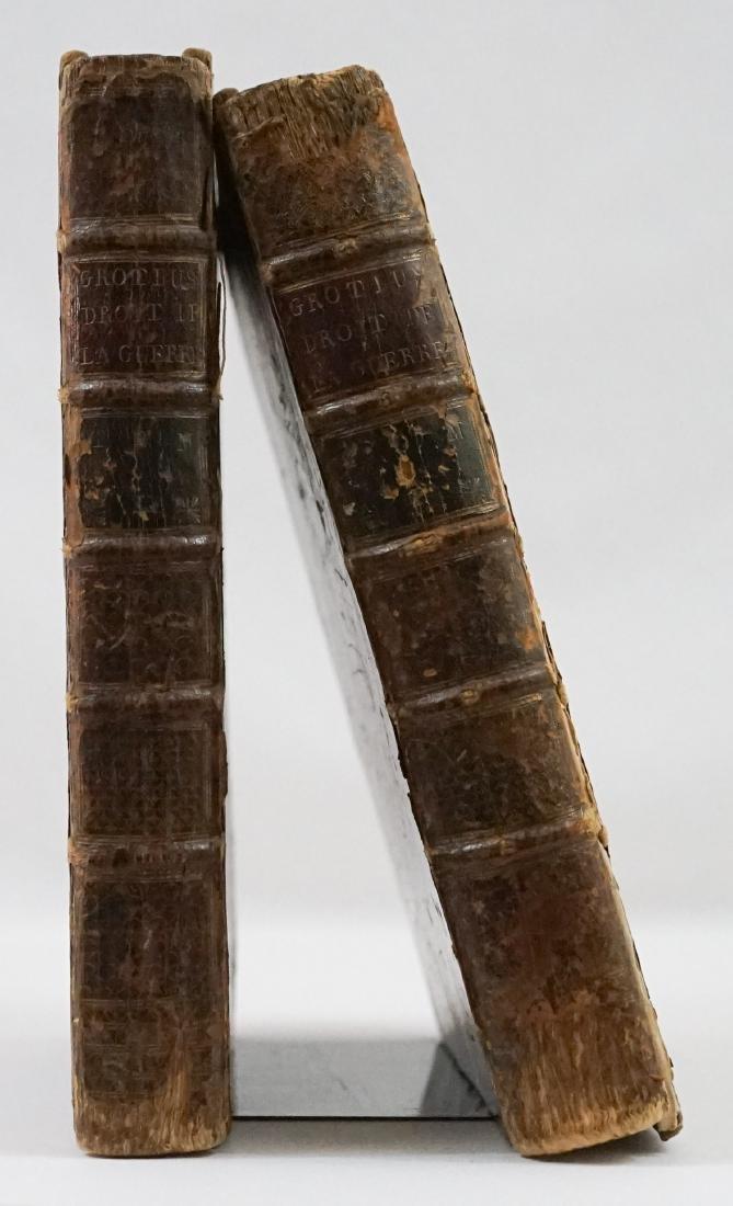 Droit De La Guerre et De La Paix 2 Vol 1759