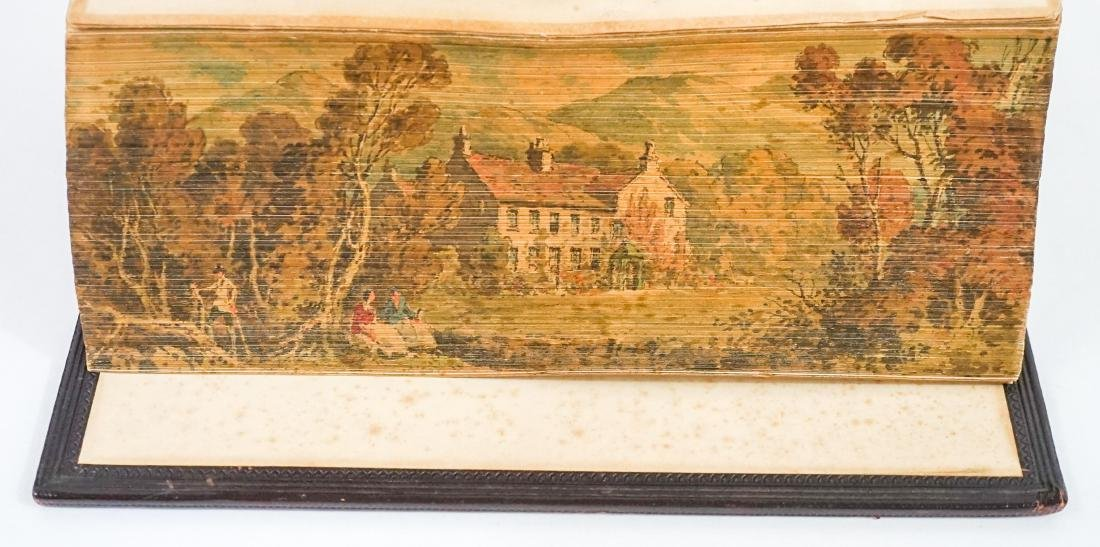 Wordsworth's Poetical Works; Fore-Edge Painting