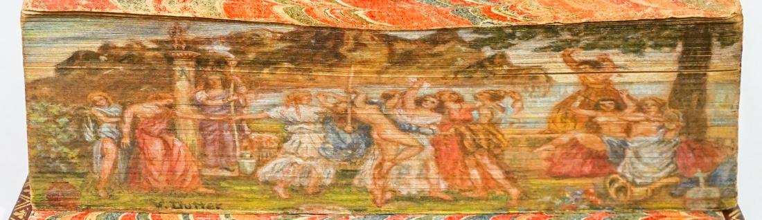 Fore-Edge Painting signed by Vera Elinor Dutter