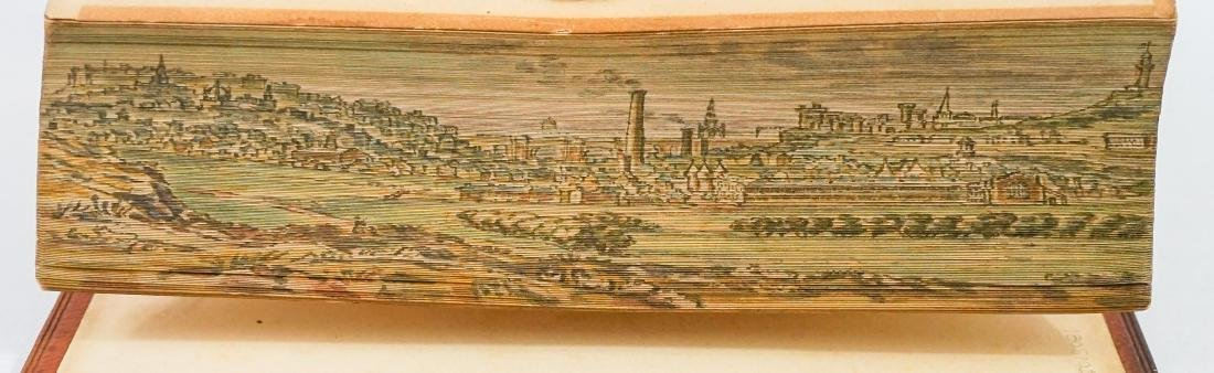 Lays of the Scottish Cavaliers; Fore-Edge Painting