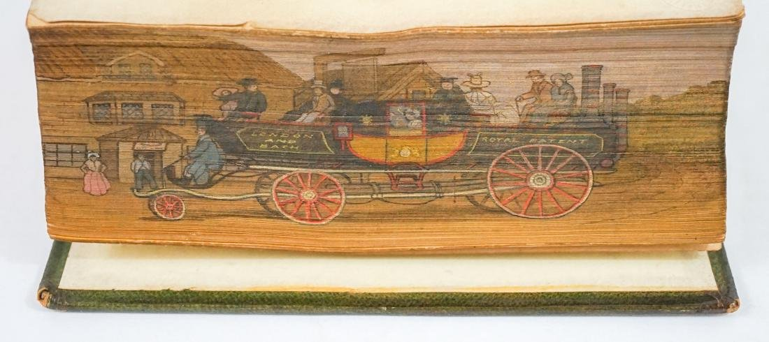 Poetical Works William Cowper; Fore-Edge Painting
