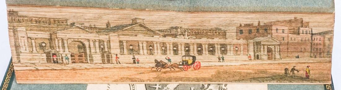Poetry of the Anti-Jacobin; Fore-Edge Painting
