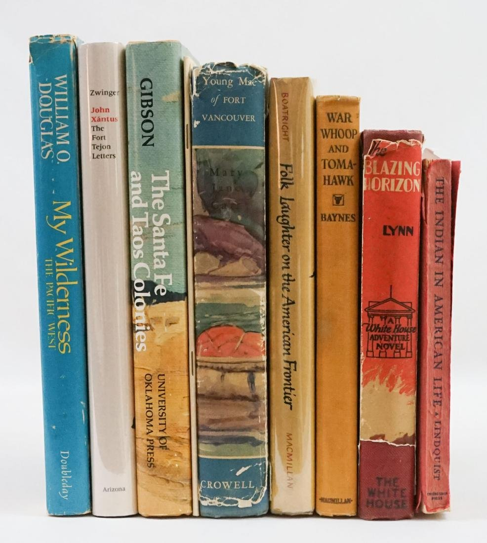 Group of Nine Native American Books